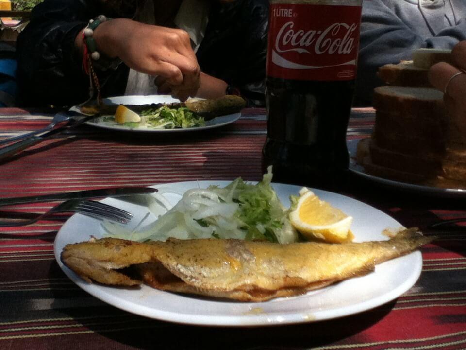 トラブゾン 魚料理 ニジマス