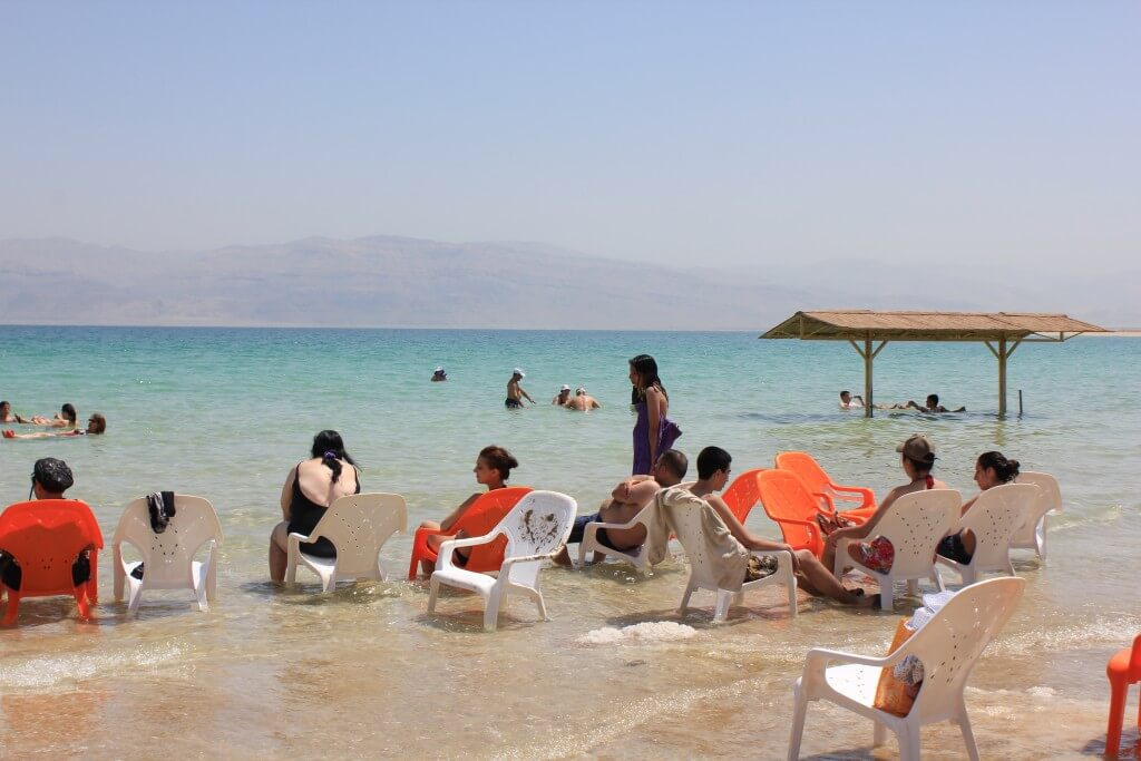 死海 イスラエル側 ビーチ