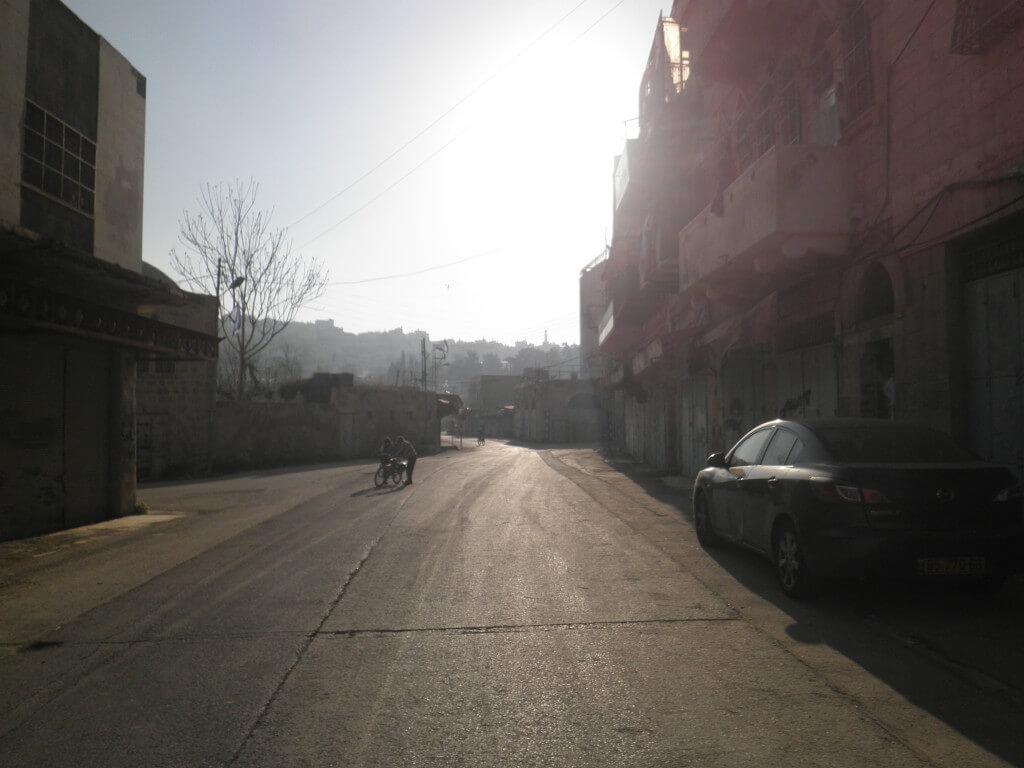 パレスチナ自治区 ヘブロン ゴーストタウン イスラエル