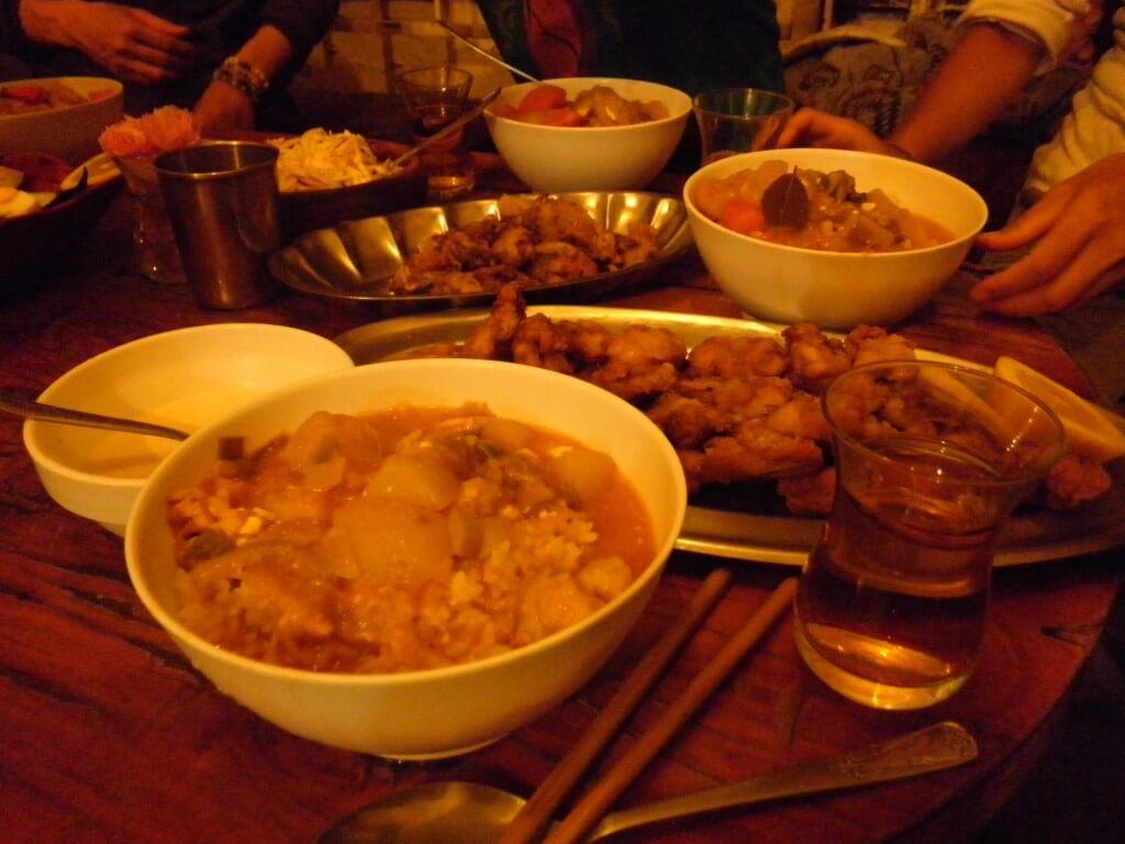 ツリーオブライフ トルコ イスタンブール 日本食 シェア飯