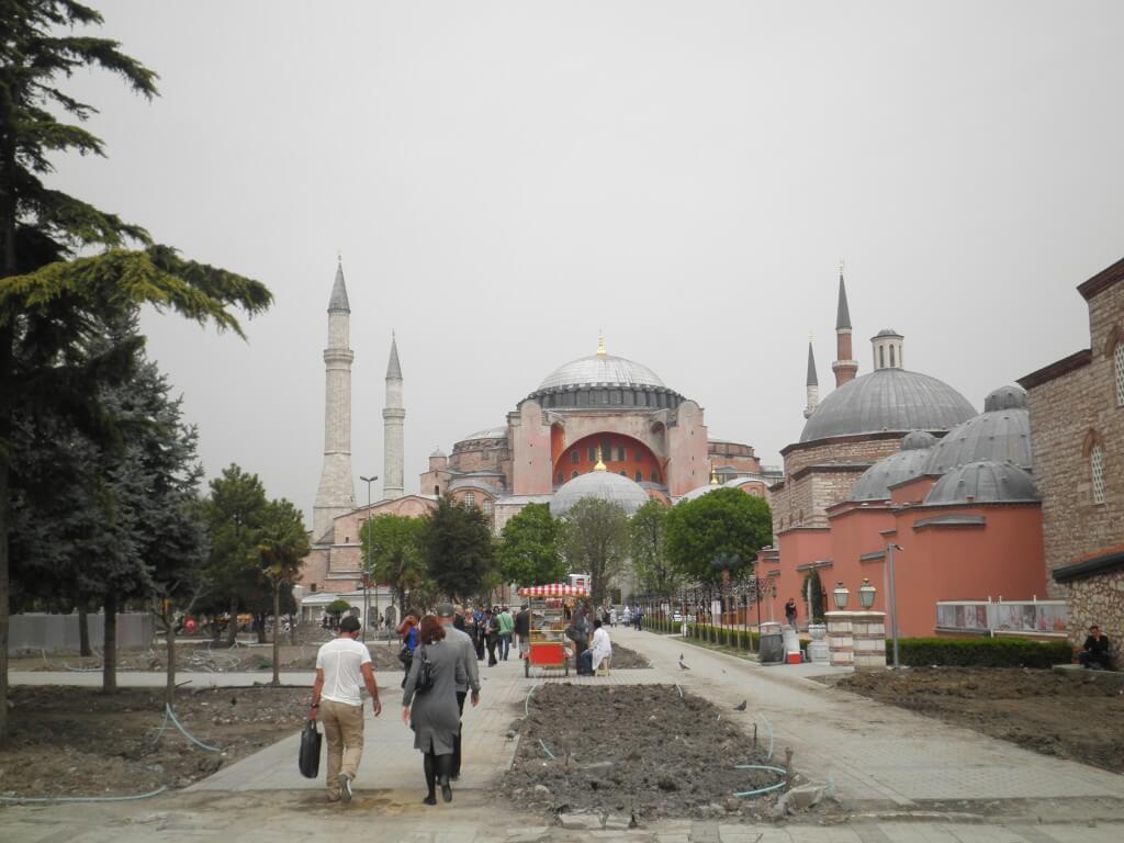 イスタンブール アヤソフィア