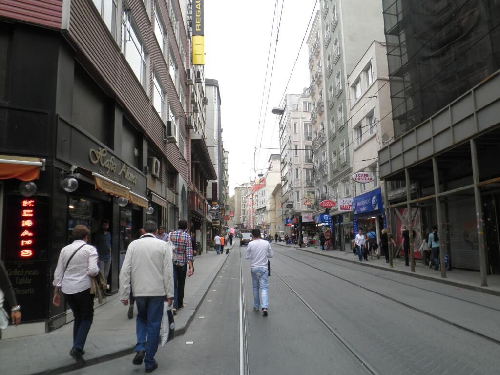 トルコ イスタンブール街並み