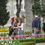 今日の美女 トルコのイスタンブールのトルコ人のかわいい女の子達