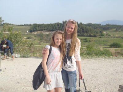 今日の美女 パムッカレの石灰棚であったトルコ人の女の子