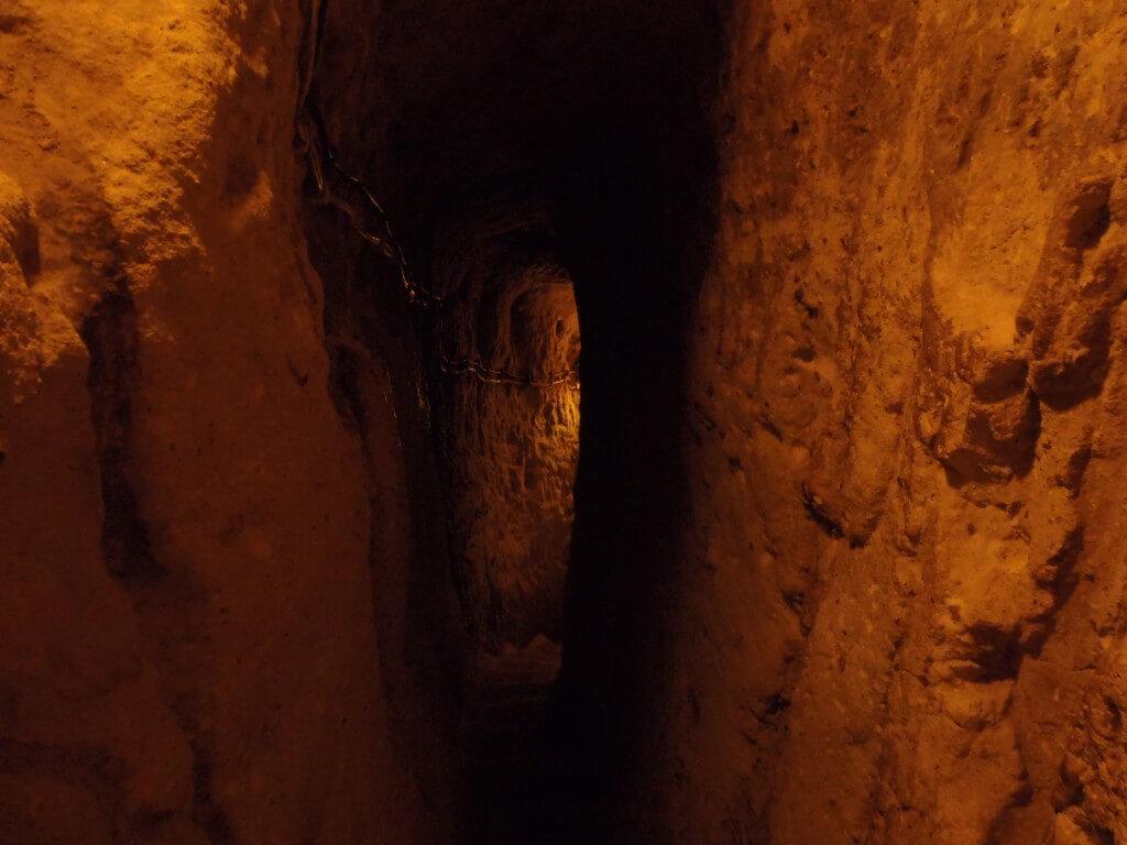 カッパドキア 迫害から逃れて隠れ住んでいた洞窟