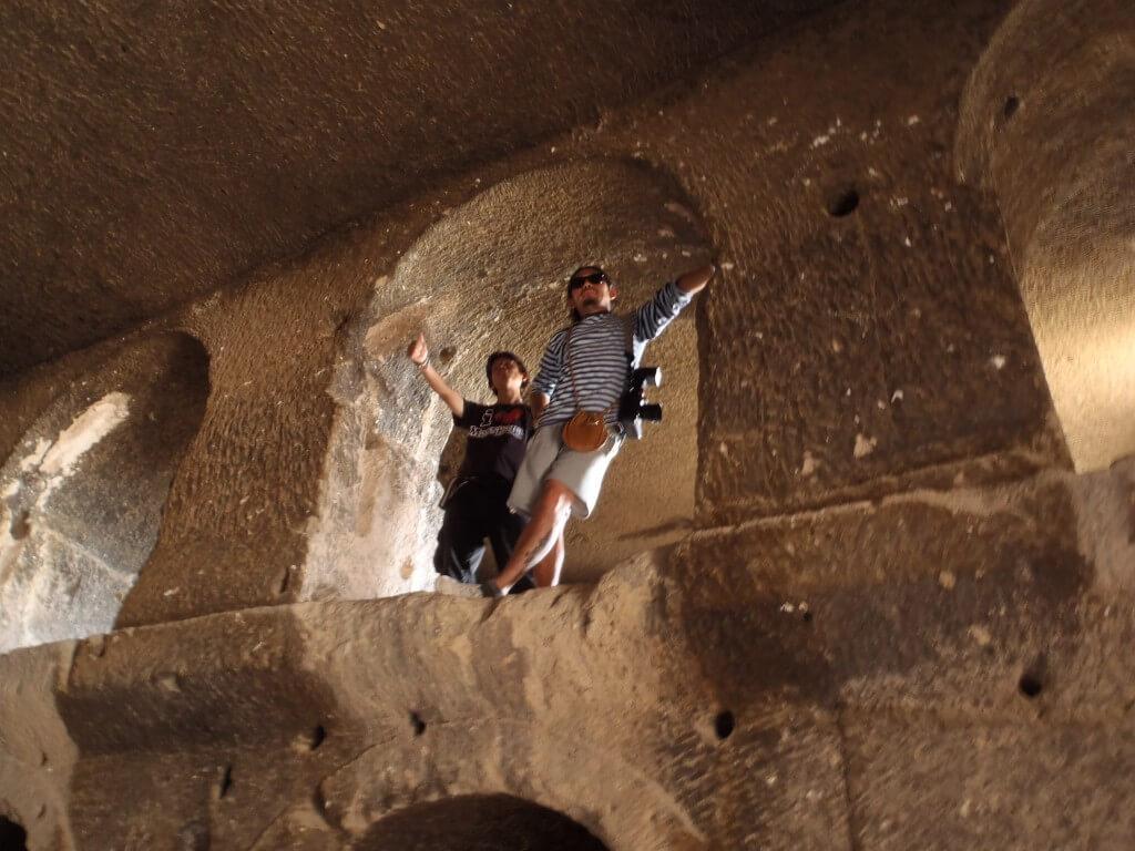 カッパドキア グリーンツアー 奇岩 教会