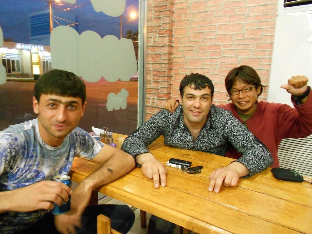アルメニア エレバン ケバブ屋で仲良くなった