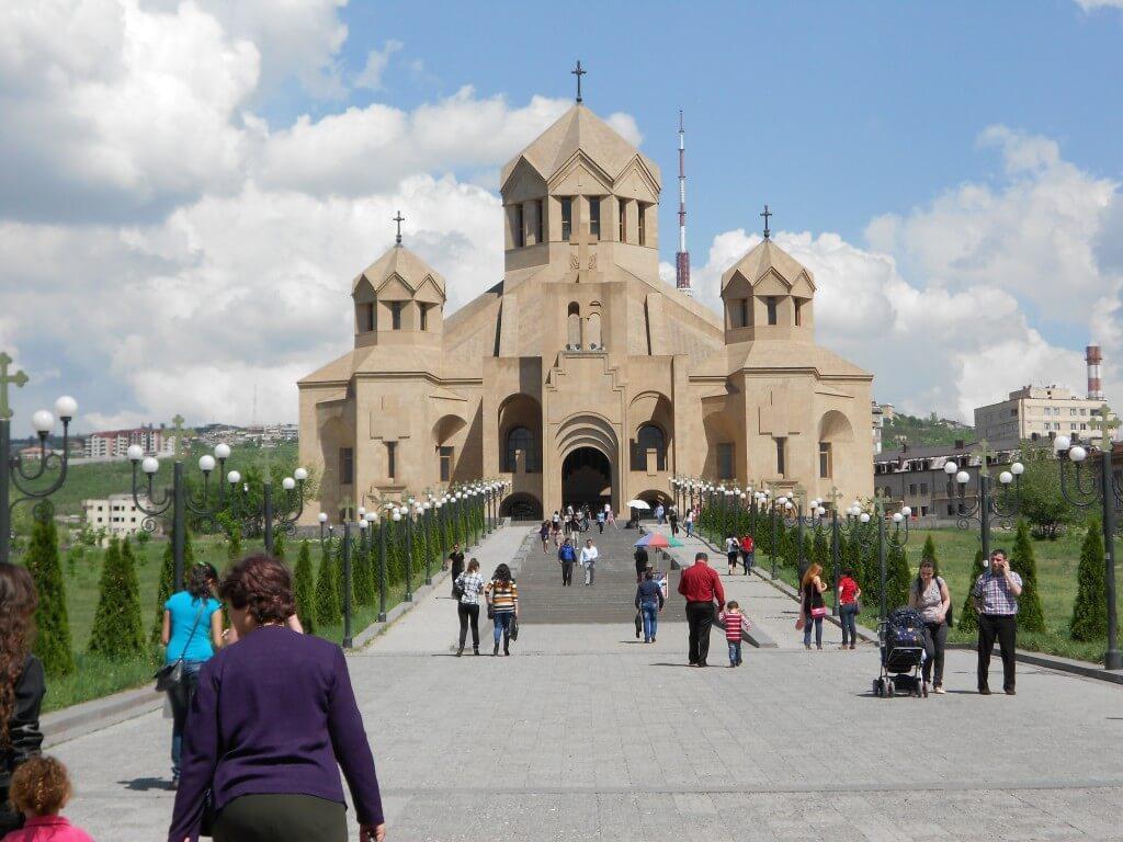アルメニア エレバン 聖グリゴル・ルサボレッチ聖堂