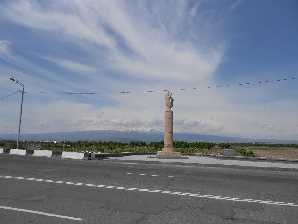 ノアの箱舟の残骸があるといわれるアトス山 アルメニア