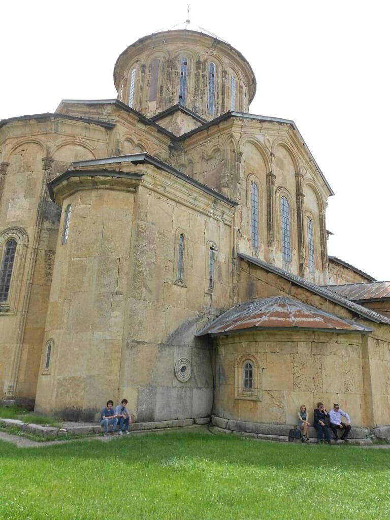 クタイシの観光名所 ゲラティ修道院 行き方