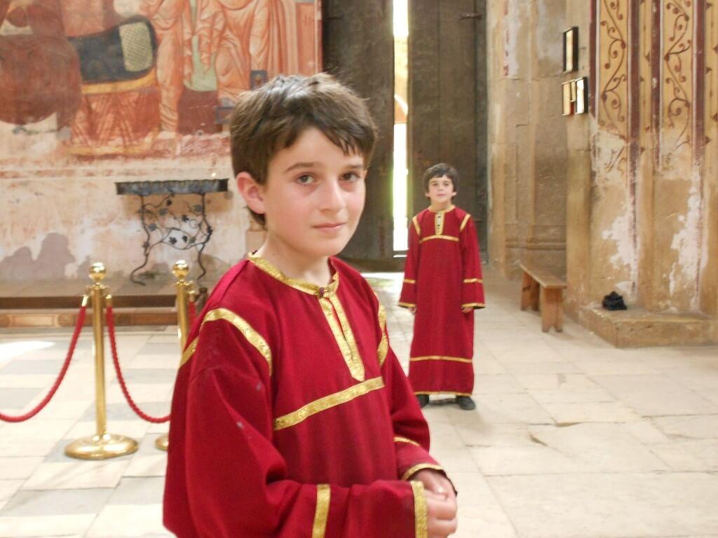 クタイシの観光名所 ゲラティ修道院 結婚式