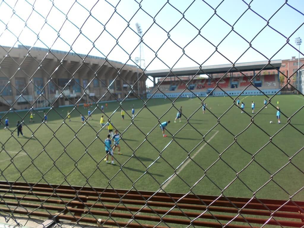 トラブゾン ヨーロッパ、トルコも含めて本場のサッカーリーグの試合
