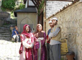 今日の美女 サフランボルでトルコ映画の女優さんに遭遇!