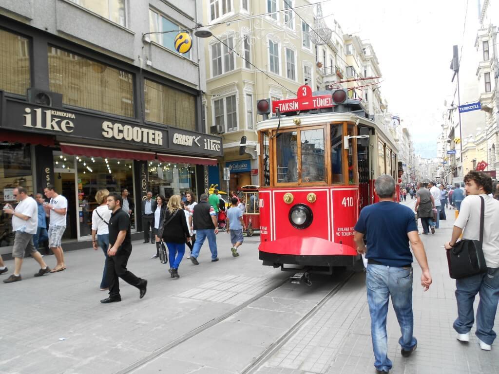 新市街 イスタンブール