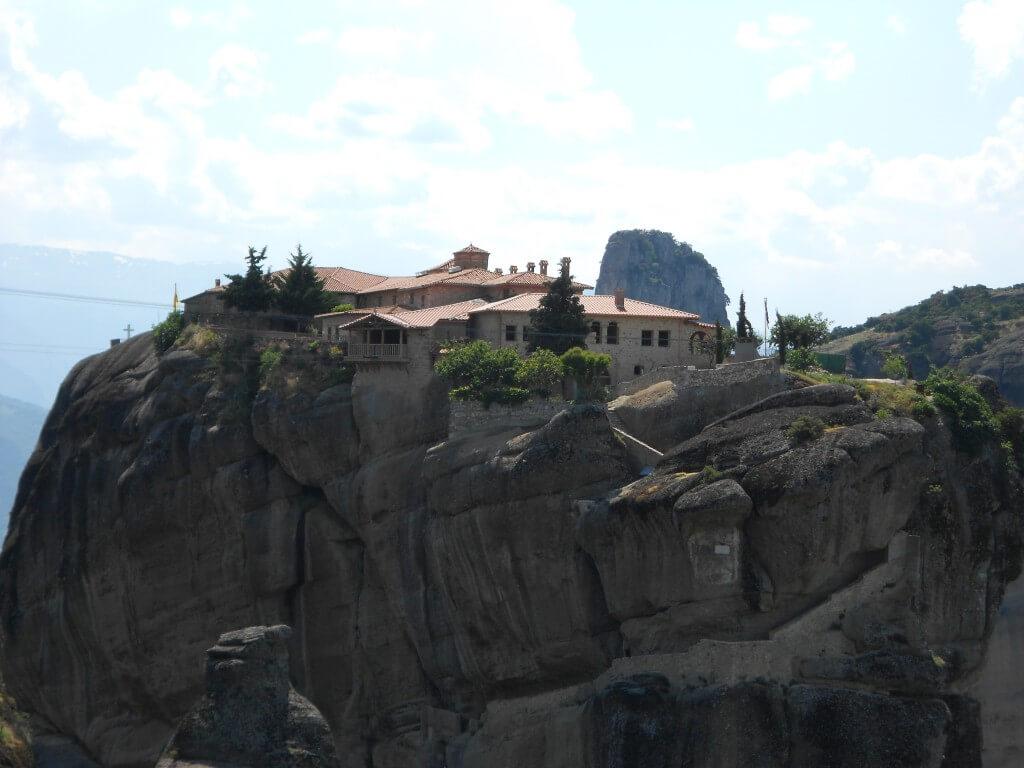 メテオラ修道院群 アギア・トリアダ修道院