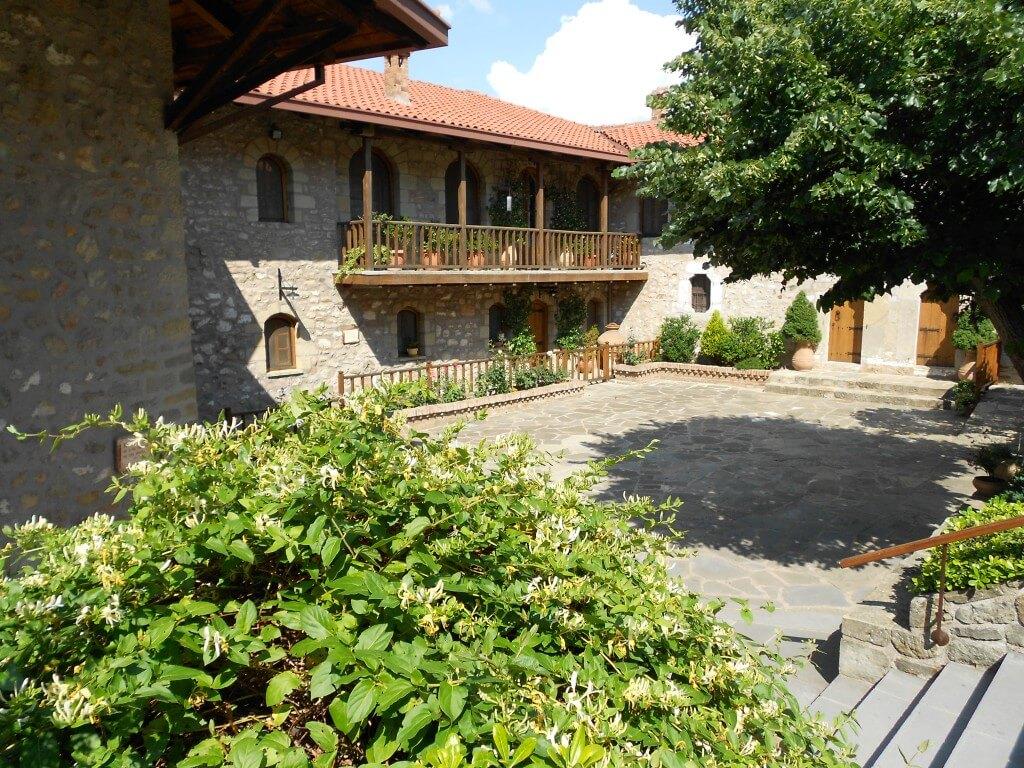 メテオラ修道院群 アギオス・ステファノス修道院 内部