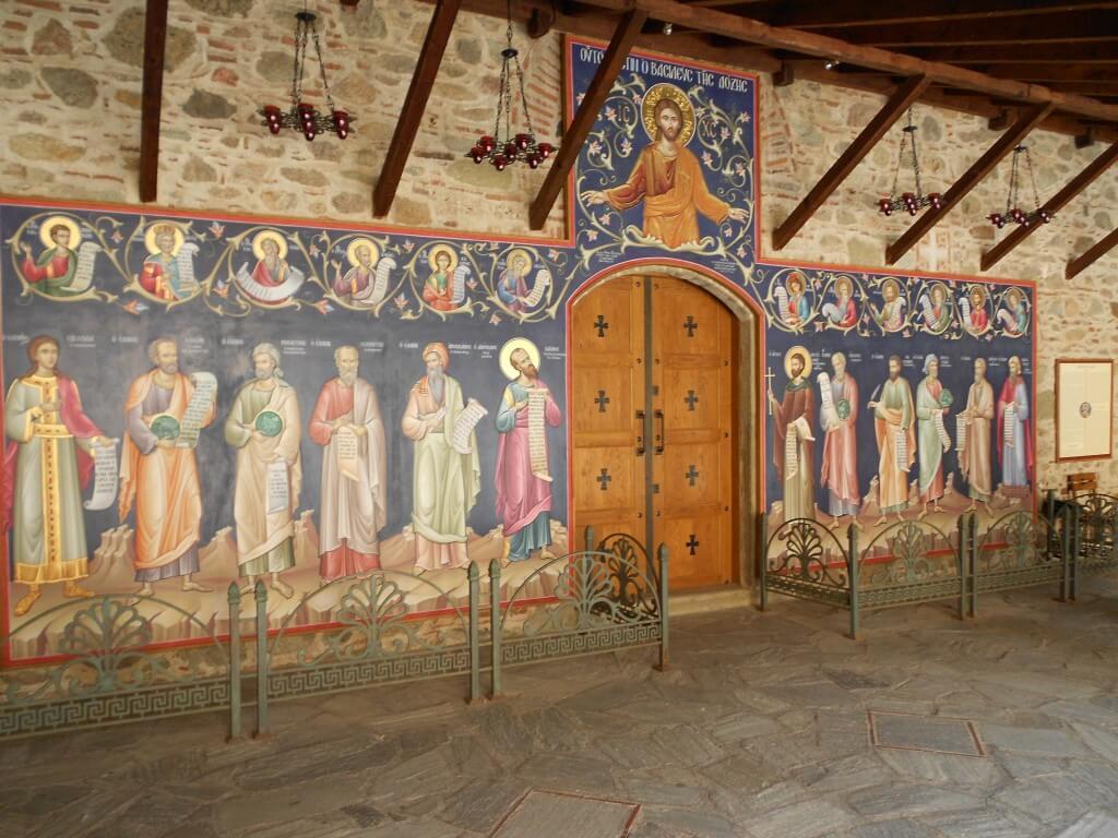 メガロ・メテオロン修道院 内部 メテオラ