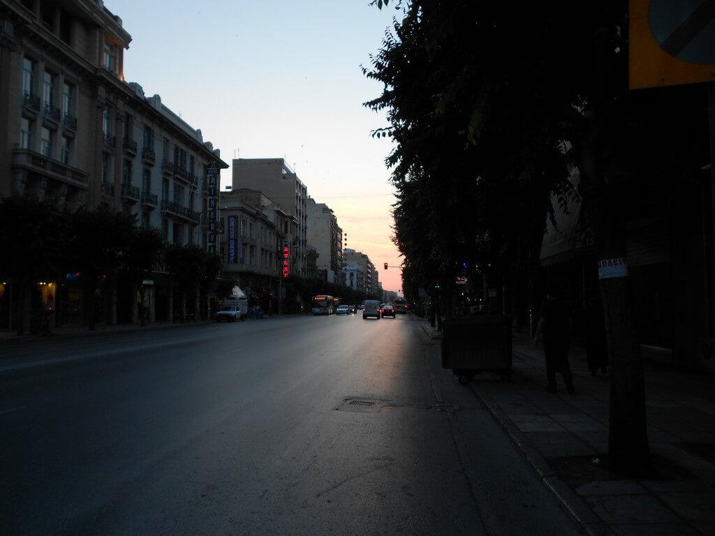 テッサロニキ ブルガリアのソフィア行きバス