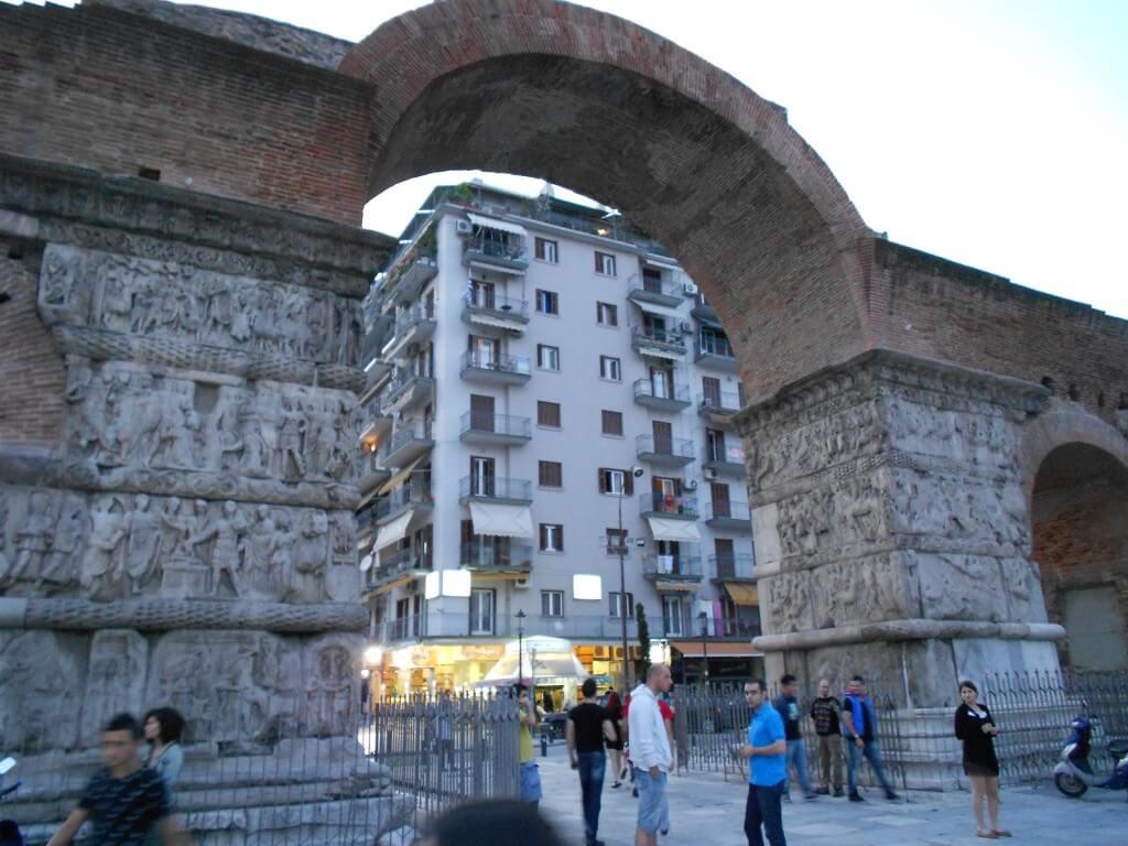 テッサロニキ ガリレウスの凱旋門! 世界遺産!!