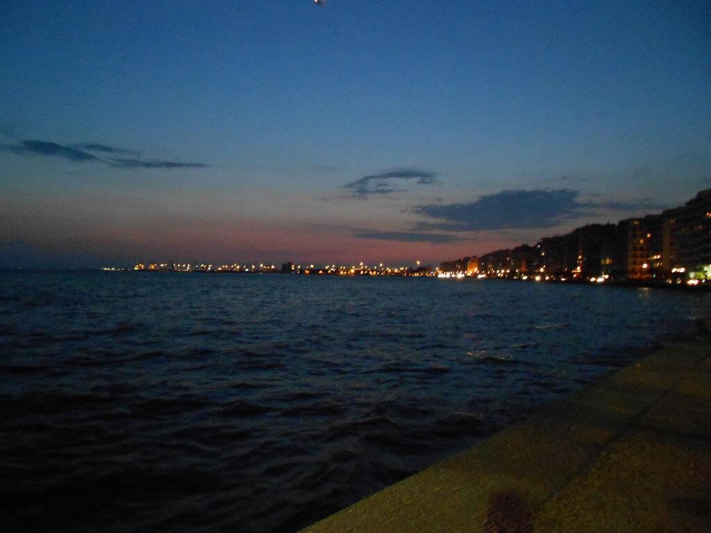 テッサロニキ 海沿い