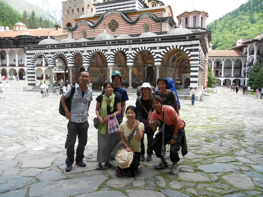 世界遺産 リラの僧院 宿泊