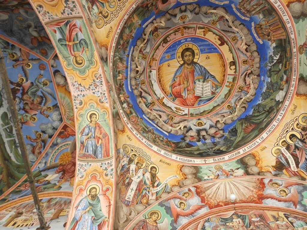 リラの僧院 内部の装飾 きれい