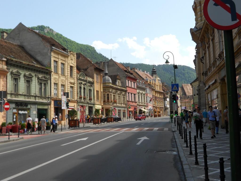 ブラショフ 街並み ルーマニア