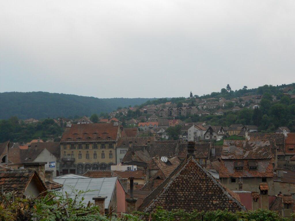 世界遺産のルーマニア シギショアラの街