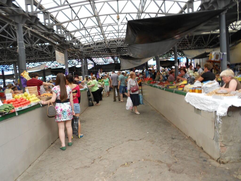 モルドバ キシナウ 市場