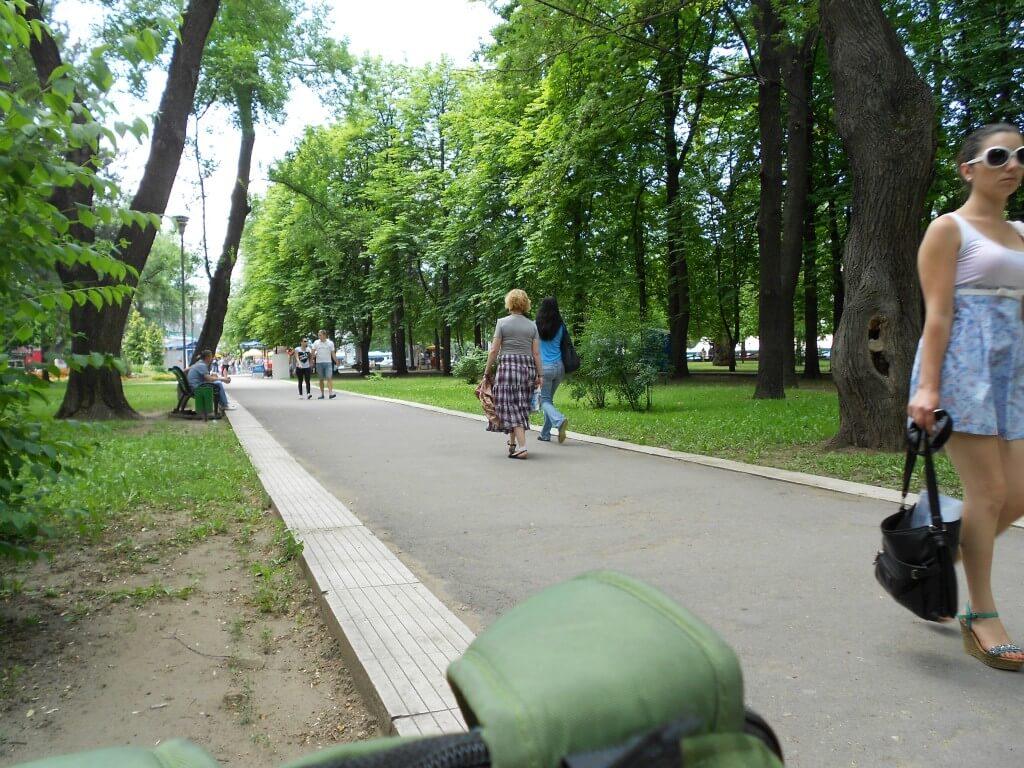 モルドバ キシナウ 公園