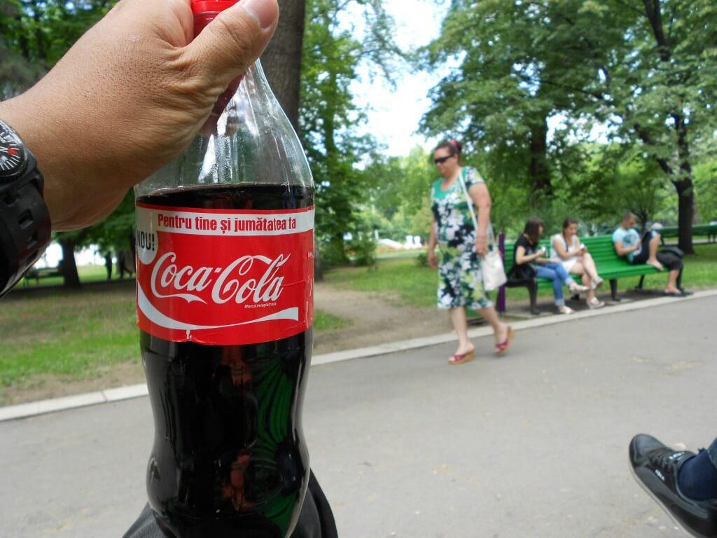 今日のコーラ モルドバの公園で