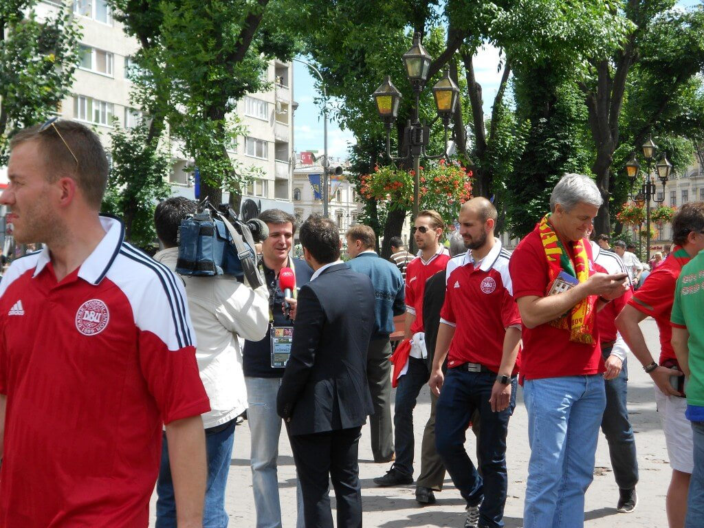 リヴィウ ウクライナ EURO2012 ポルトガル TVリポート