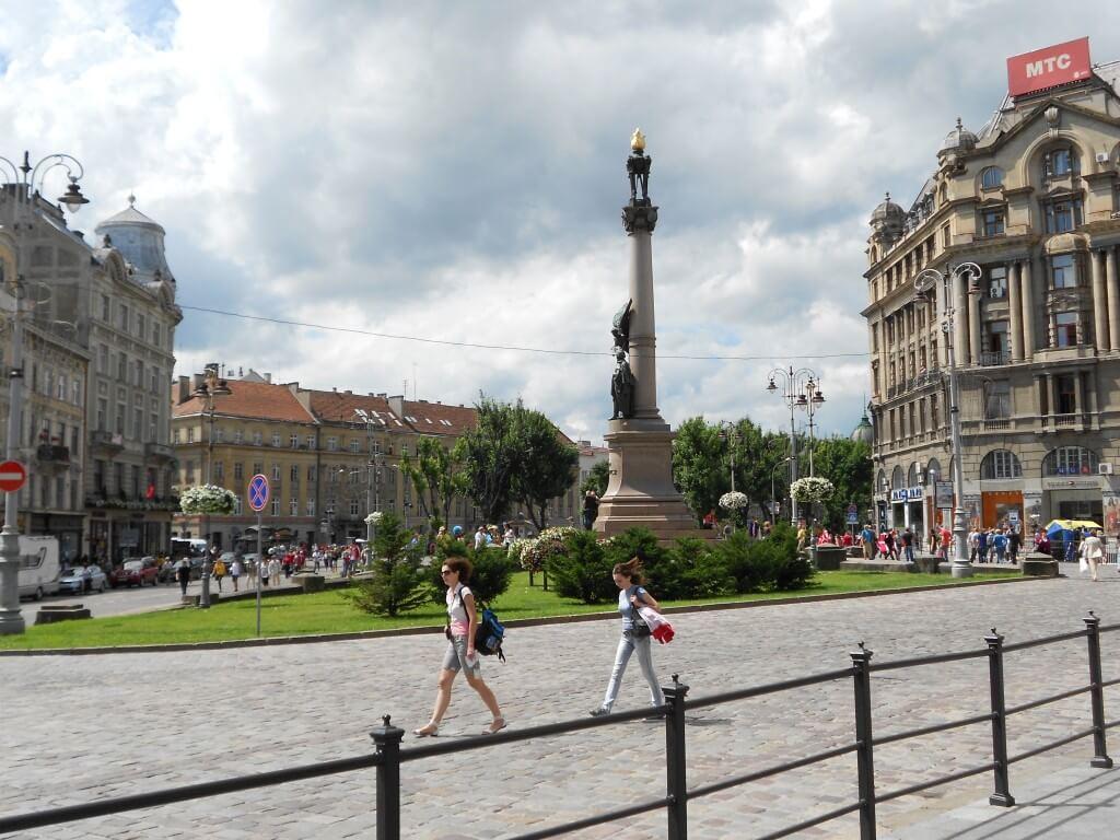 ウクライナのリヴィウ!ユーロ2012