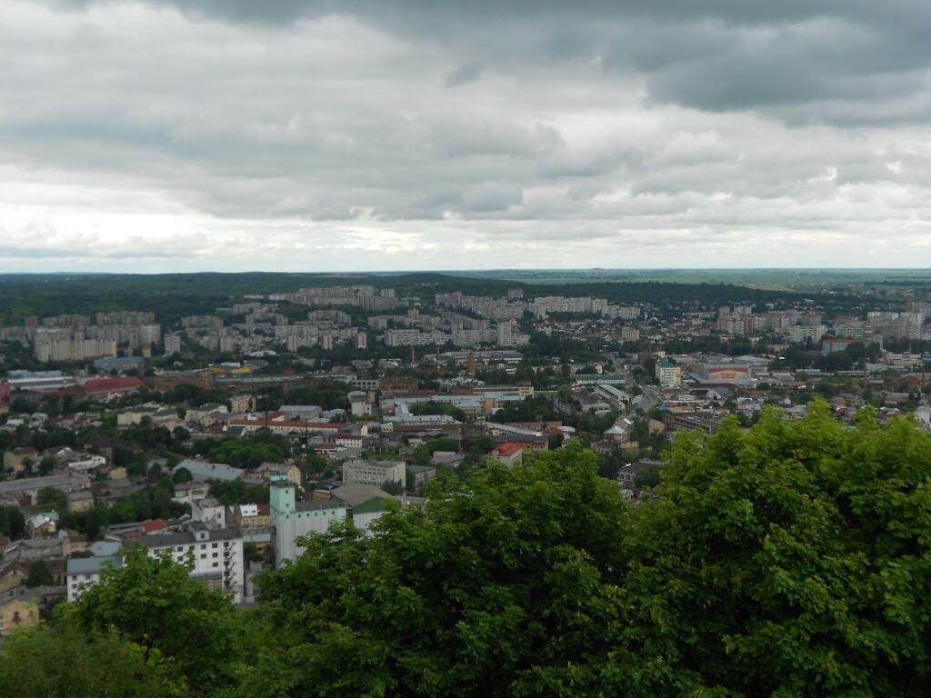 リヴィウ 丘からの眺め