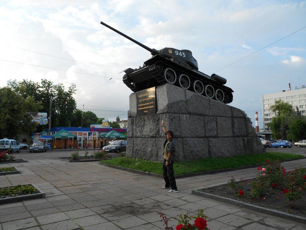 ジトミール 戦車 ウクライナ 観光