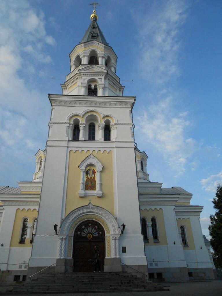 ジトミールの街は旧ソビエトの文化
