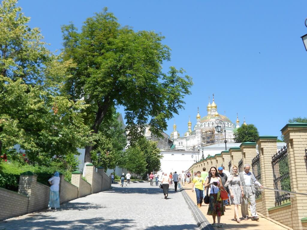 キエフの街並み ウクライナ