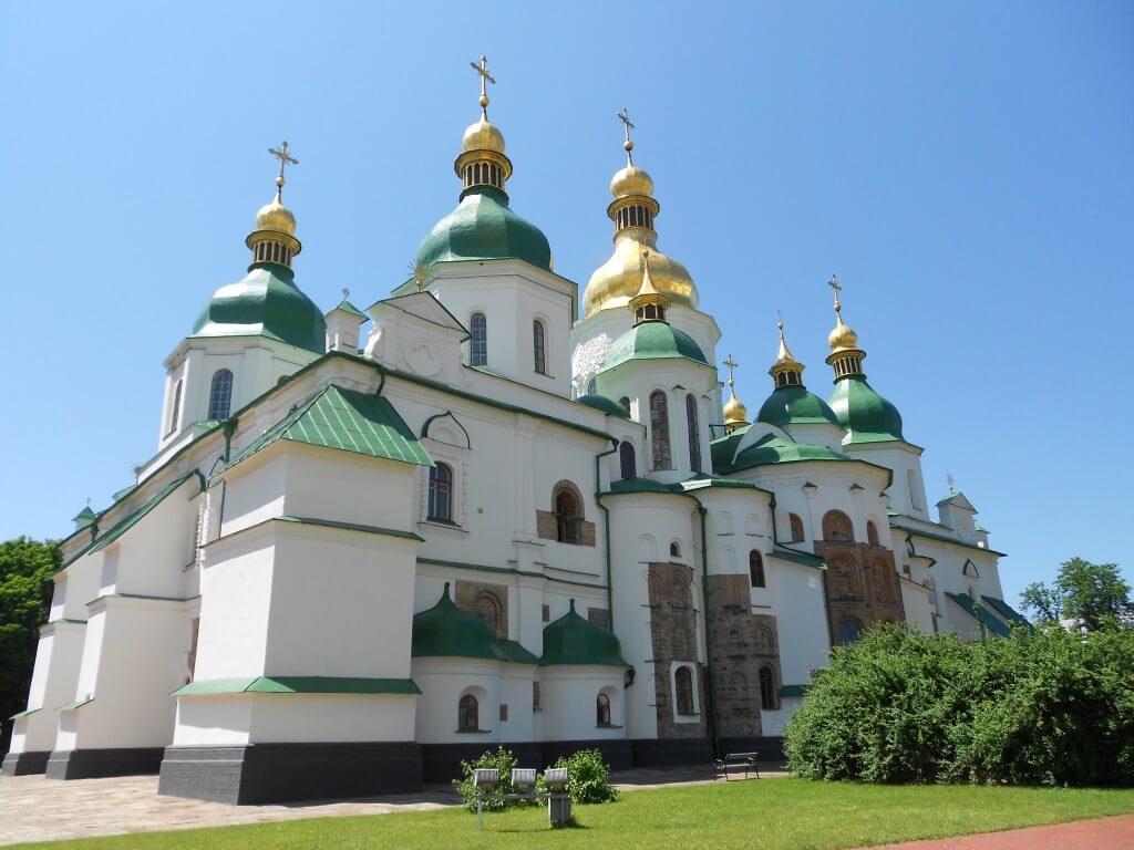 聖ソフィア大聖堂 キエフ 世界遺産