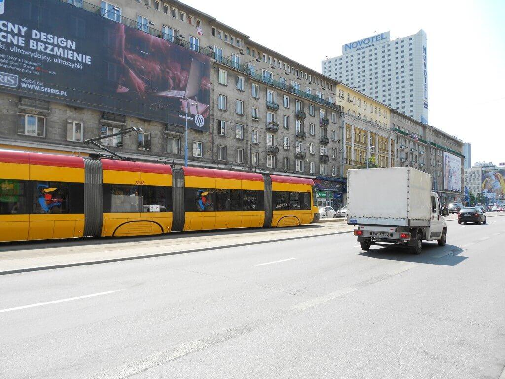 ワルシャワ 路面電車