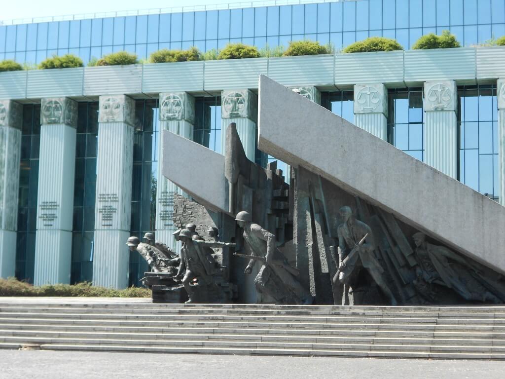 ワルシャワ 第二次世界大戦 ドイツ軍進行