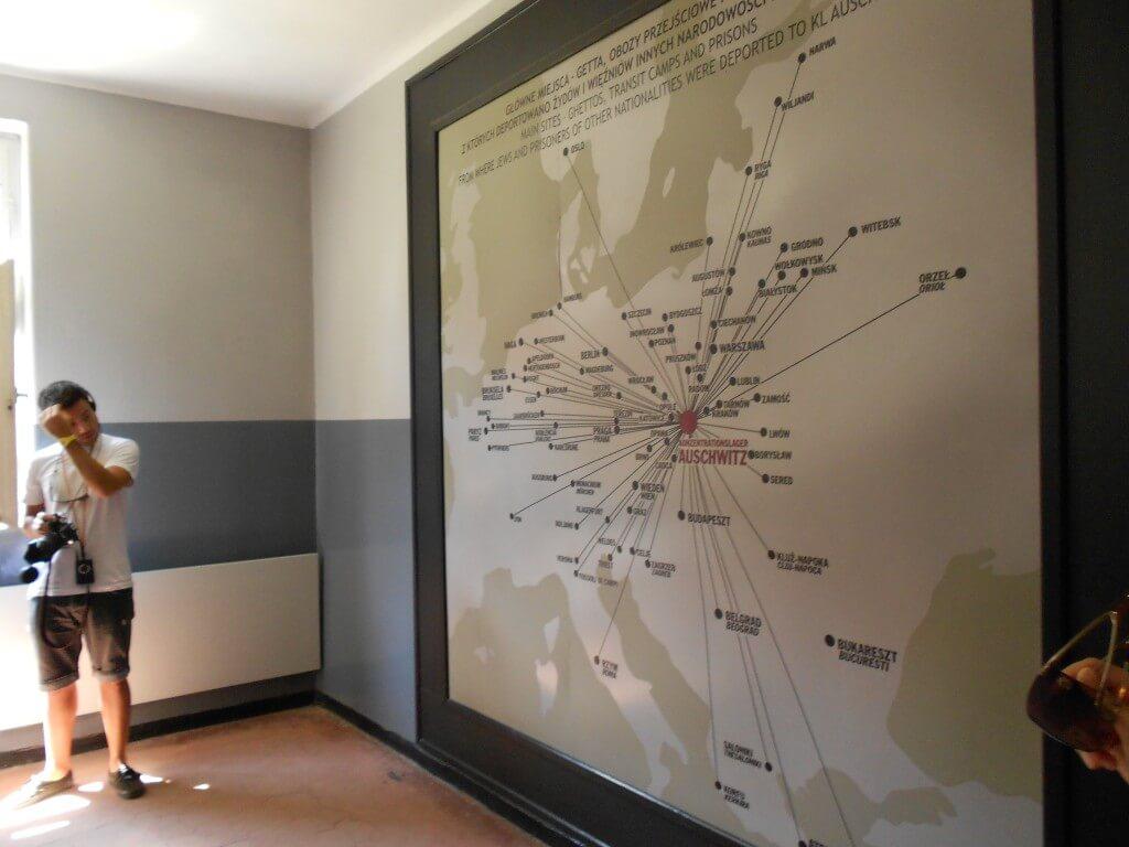 アウシュビッツ強制収容所 クラクフ ポーランド