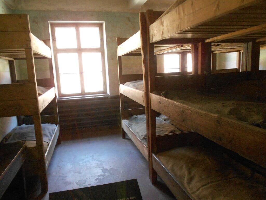 ユダヤ人 部屋 アウシュビッツ強制収容所 クラクフ ポーランド
