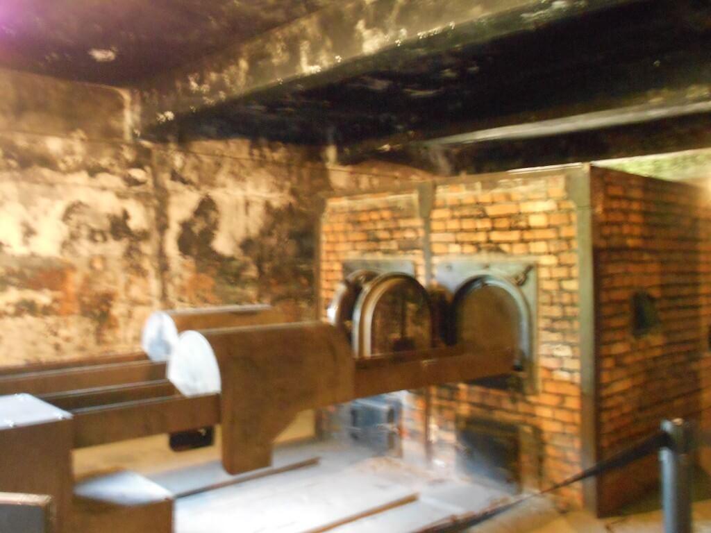 火葬場 アウシュビッツ強制収容所 クラクフ ポーランド