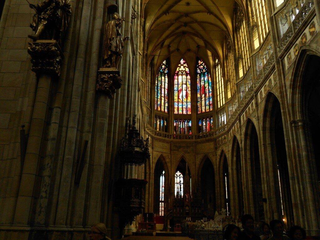 聖ヴィート大聖堂 ステンドガラス プラハ城