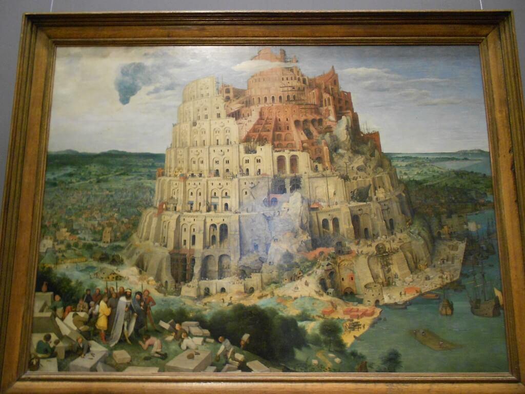 ウィーン 美術史博物館 バベルの塔 ピーテル・ブリューゲル