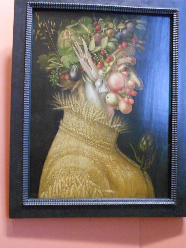 ウィーン 美術史博物館 ジュゼッペ・アルチンボルド 『夏』