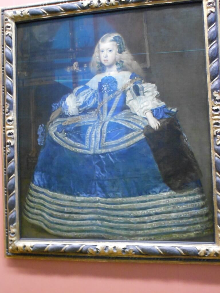 ウィーン 美術史博物館 絵画 ディエゴ・ベラスケス  青いドレスのマルガリータ王女