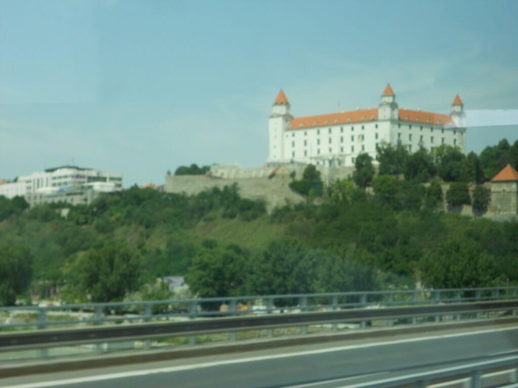 ブラスチラバ城 スロバキア