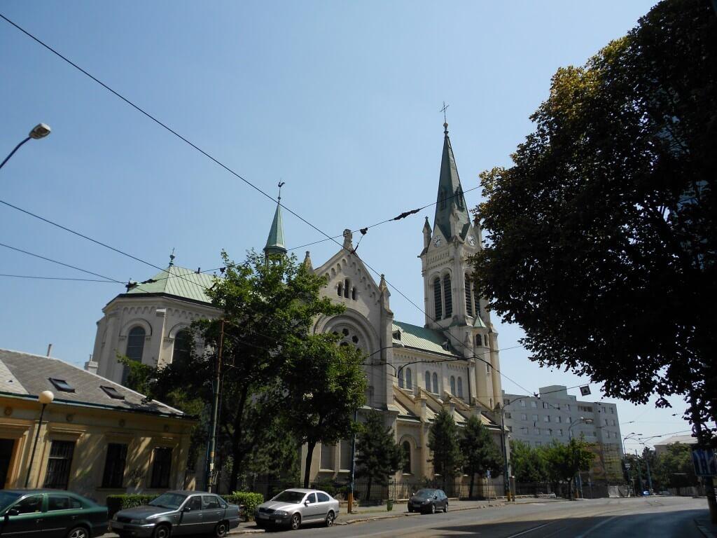 ブラスチラバ 教会 スロバキア