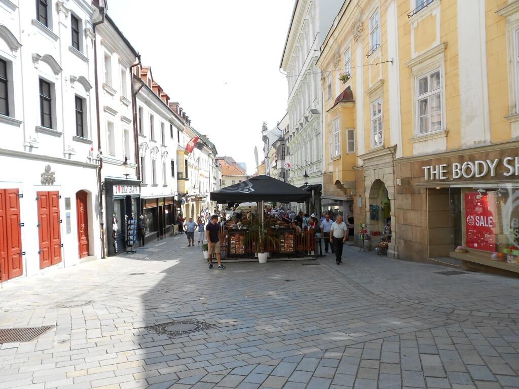 ブラスチラバ 旧市街